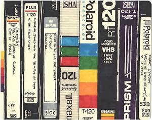 A Tribute To The Vhs Tapes Of The  U0026 39 80s  12 Drawings