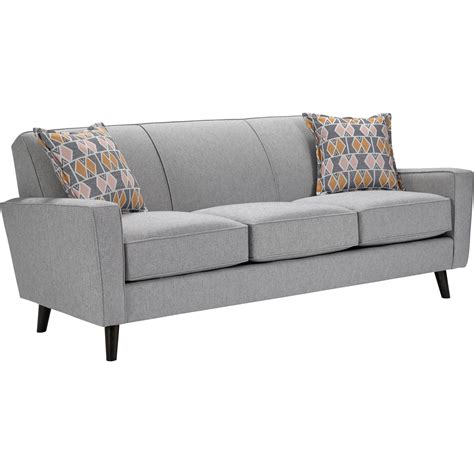 Broyhill Furniture Rhodes 795 Sofa With Mid Century