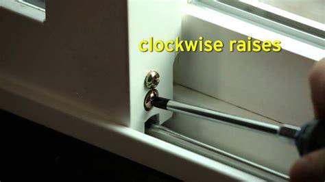 Sliding Glass Door Adjustments  Quadrant Homes Howto Tip