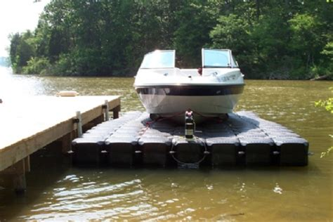 Drive On Floating Boat Lift by Universal 19 Wide Drive On Floating Boat Lift