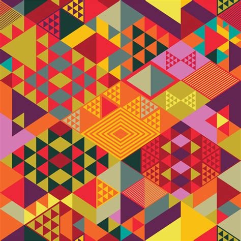 Abstract Shape Images by Colorful Shapes Abstract Background Free Vector In