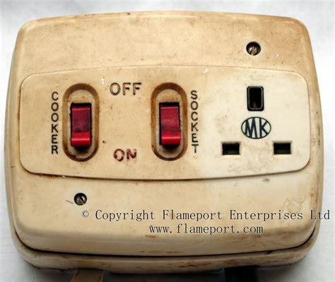 Plastic Cooker Switch Socket Outlet