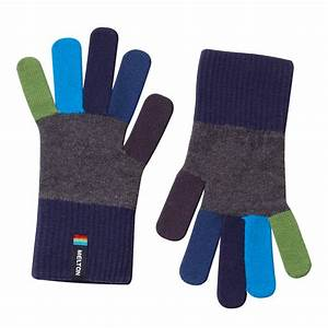 Children's Winter Gloves Colorful Knitted Gloves by Melton