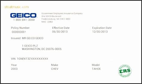 An auto insurance card template is simply a card issued by your. Print Free Fake Insurance Cards Ybtgy Elegant Fake Insurance Card Template   Insurance card ...