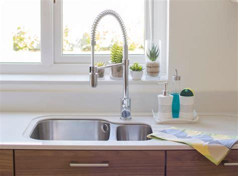 Organized & Pretty Kitchen Sink  Life In Eight