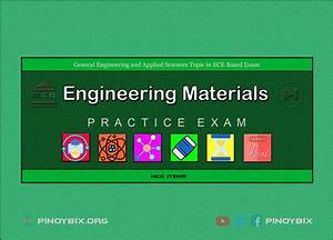 Mcq In Engineering Materials Series