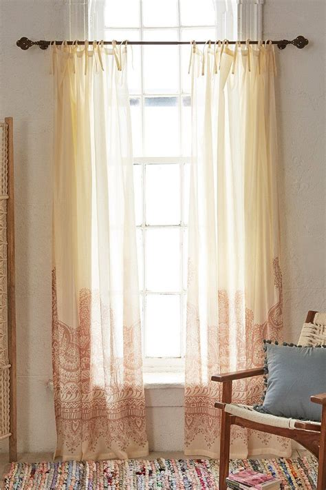 Plum & Bow Henna Asha Curtain  Urban Outfitters, Curtains