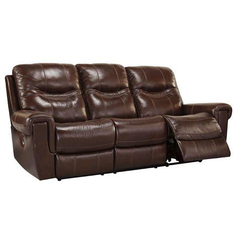 overly power reclining sofa casscoe bark reclining sofa w power reclining sofas