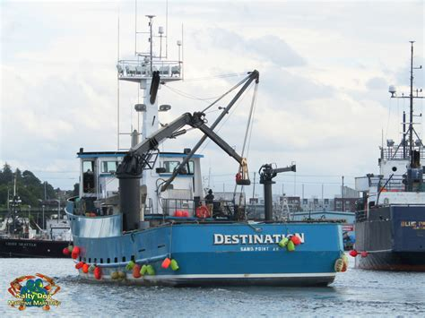 Bering Sea Crab Boat Destination by Destination Crab Boat Time Bandit Brenna A Deadliest