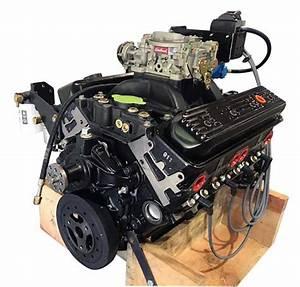 5 7l 350 Lh Gm V8 Carbureted Enhanced Marine Base Engine