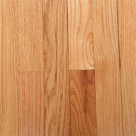 3 4 hardwood flooring bruce american originals naturalred oak 3 4 in thick x 2 1 4 in wide x varying length solid