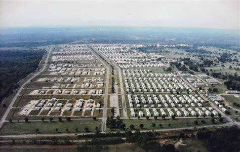 Fort Chaffee, Aerial View - Encyclopedia of Arkansas