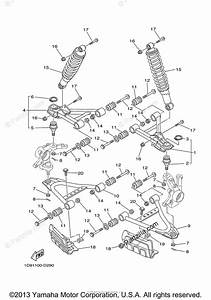 Yamaha Atv 2007 Oem Parts Diagram For Front Suspension