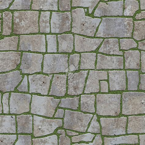 Paving flagstone texture seamless 05935