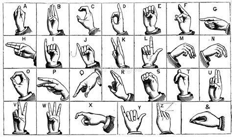 letters in sign language asl abc chart cake ideas and designs 4241