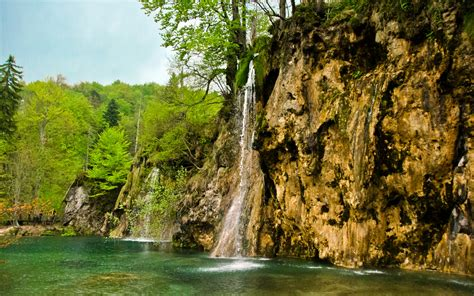 Pictures Croatia Nature Waterfalls Lake