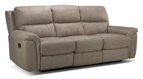 reclining settee roarke reclining sofa silver grey s