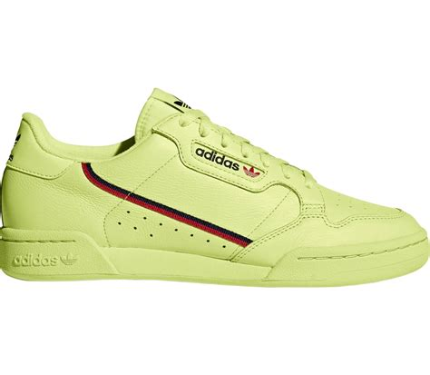 adidas originals continental  rascal mens trainers neon yellow  kaufen keller