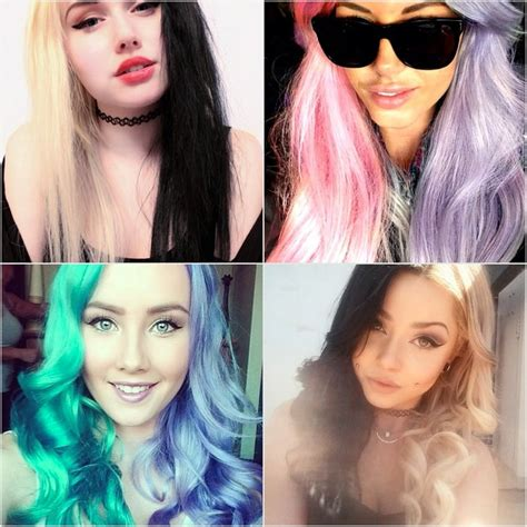 Forget Rainbow Hair Half And Half Dye Is The Hot New
