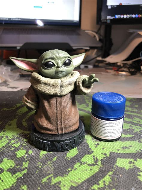 Printed And Painted The Infamous Baby Yoda Aka Boomer