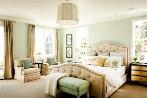 Beautiful Master Bedrooms With Green Walls