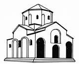 Monastery Drawing Altar Church Getdrawings Clipartmag sketch template