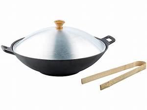 Wok Gusseisen Kaufen : tornwald schmiede gusseisen wok set 37cm ~ Markanthonyermac.com Haus und Dekorationen