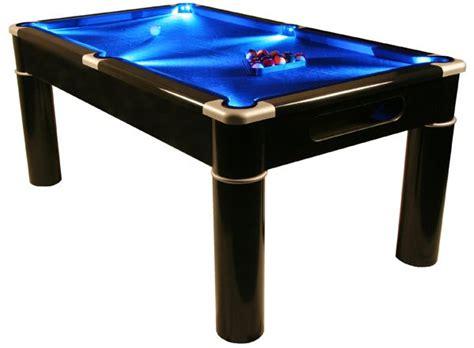 6 feet pool table strikeworth aurora british 6 foot pool table with led lighting
