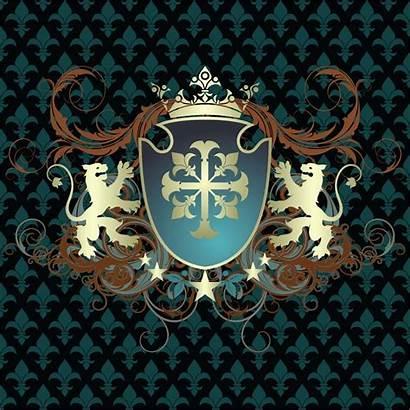 Shield Vector Shields Ornate Vectors Ornamental Heraldic