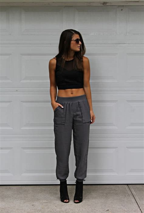 Best Looks To Create With Track pants And Sweatpants u2013 Fashion Twin