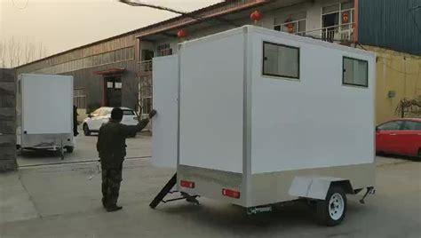 outdoor mobile bathroom portable restroom trailers