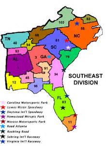 Southeast Us Region Map