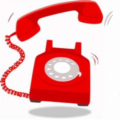 Telephone Clip Ringing Clipart Clker Vector