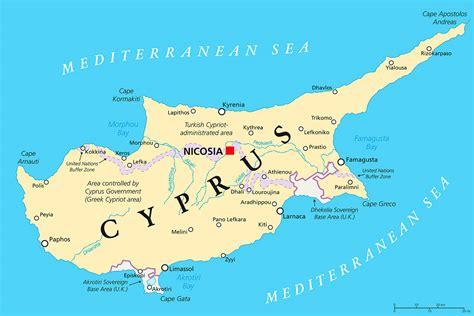 map  cyprus   cyprus