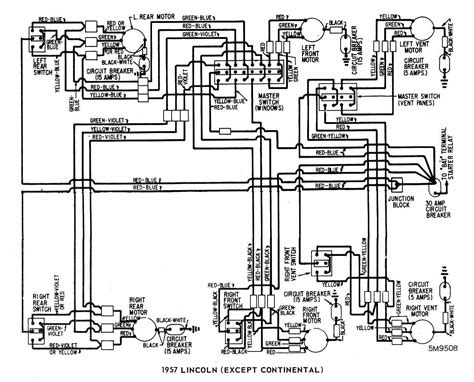 1957 Ford Wiring Diagram by Category Ford Wiring Diagram Page 13 Circuit And