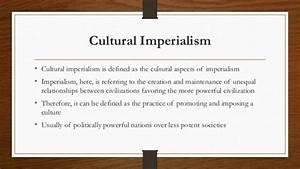 Cultural Imperialism by Abid Zafar