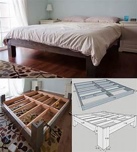 Doppelbett Selber Bauen Ideen : die besten 25 bett selber bauen ideen auf pinterest bett bauen palettenbett selber bauen und ~ Markanthonyermac.com Haus und Dekorationen