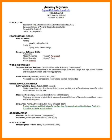 Make Your Own Resume by 6 Make Your Own Resumes By Designs
