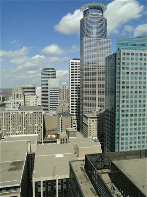 view from observation deck picture of w minneapolis
