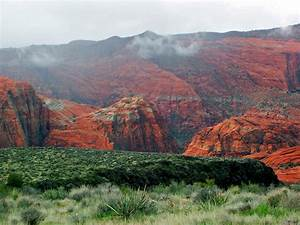 St  George  Springdale  Utah Trail Map  U0026 Guide