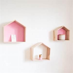 Etagere Maison Bois : etagere gigogne bois ~ Teatrodelosmanantiales.com Idées de Décoration