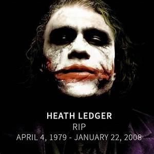 Cary's Comics Craze: R.I.P. Heath Ledger: The Joker actor ...