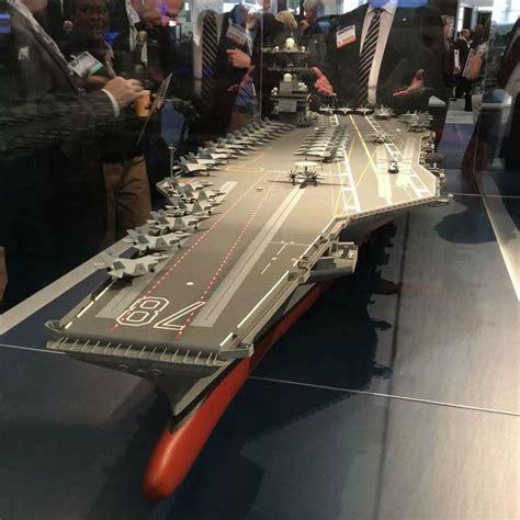 Model Of Cvn-78, Uss Gerald R. Ford.