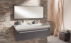 Salle De Bain Idée Déco : mod le d coration salle de bain marron ~ Dailycaller-alerts.com Idées de Décoration