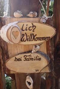 Türschilder Holz Familie : wooden kreativ lich willkommen bei familie von holz ~ Lizthompson.info Haus und Dekorationen