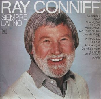 Ray Conniff  Siempre Latino (vinyl, Lp) At Discogs