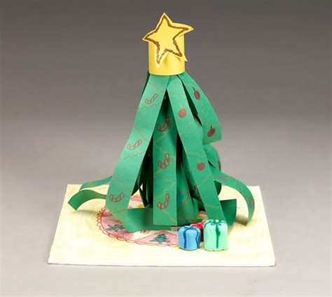 christmas tree table topper craft crayola com