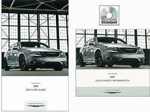 2014 Chrysler 200 User Guide Plus Owners Manual Dvd