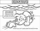 Safety Coloring Pages Low Fire Colouring Sketch Sheets Template Medium Sketches sketch template