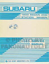 online service manuals 1987 subaru brat free book repair manuals subaru gl ebay